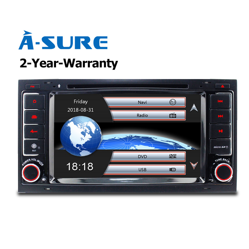 A-Sure Car DVD Player Radio GPS For Volkswagen VW Transporter Multivan T5 with GPS Navi DAB+ RDS BT 3G SWC DVBT