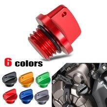 Oil Filler Cap Plug For Honda CB CBR 250 300 400 500 1000 CB600F CBR600/RR CBR1000RR 900 929 954 RR CBF600 VT750 VTR1000(China)