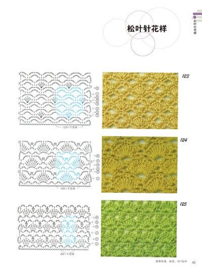 Crochet նմուշների գիրք 300 ճապոնական - Գրքեր - Լուսանկար 2
