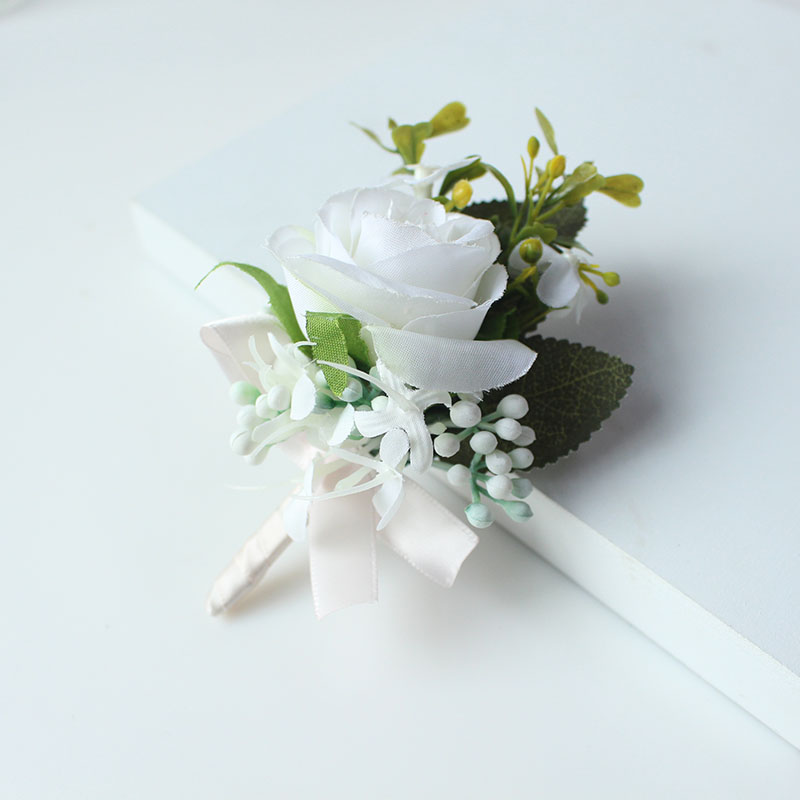 wedding boutonniere corsage groom  (27)