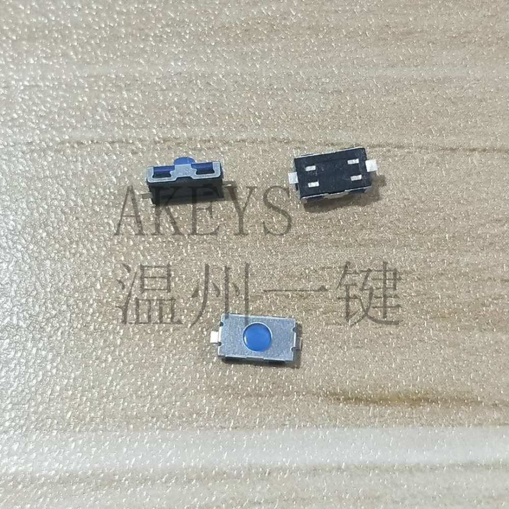 2 Pieces Blue Latching PUSH BUTTON SWITCH DC 6A 12mm normally open on//off A35