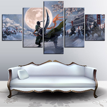 Animation Poster Canvas HD Printed Painting Home Decor Framework 5 Piece One Roronoa Zoro Wall Art Picture For Living Room