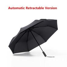 Оригинальный Xiaomi pinluo высокое качество солнечный и дождливый зонтик Алюминий ветрозащитный Водонепроницаемый УФ-зонтик человек женщина лето зима