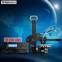 Tronxy éducation 3d Imprimante kit de bricolage haute précision de bureau en aluminium profil 3d Imprimante X1