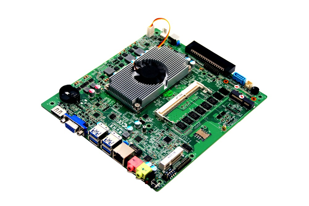 Mini itx motherboard with OPS interface/i7-5500u Processor for digital signage