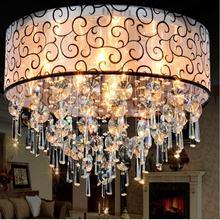 Современные Хрустальные потолочные светильники для гостиной luminarias para sala светодиодные плафоны кристалл потолочный светильник светильники для спальни