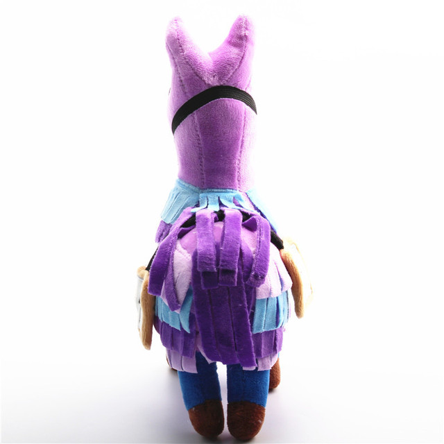 20-35cm Fortress Night Hot Game Plush Toy Troll Stash Llama Soft Alpaca Rainbow Horse Stash Stuffed Toys Kids Birthday Gift 2