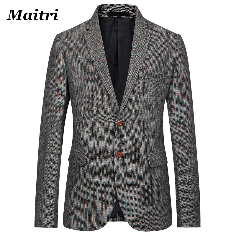 Online Get Cheap Mens Brown Blazer Jacket -Aliexpress.com ...