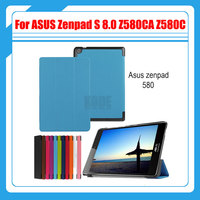 Magnetic Stand Pu Leather Case Cover For ASUS Zenpad S 8 0 Z580 Z580CA Z580C 8