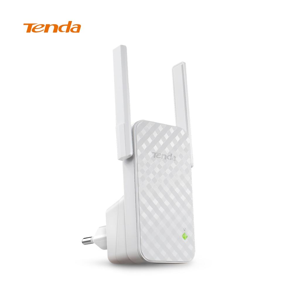 Tenda A9 300 M Wireless WiFi Ripetitore, Amplificatore di Segnale WiFi, Router Wireless WiFi Range Extender Ampliare Booster, UE/USA Firmware