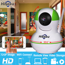 High Quality HD 720P Wireless IP Camera Wifi Night Vision Camera IP Network Camera Baby Monitor CCTV WIFI P2P Onvif 433MHz FH6