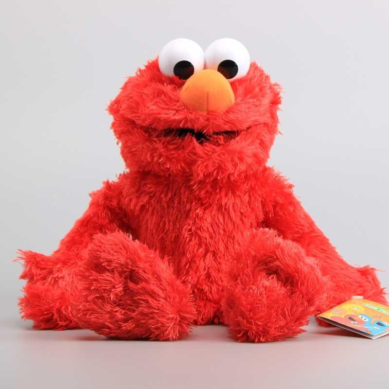 7 Characters Sesame Street Hand Puppet Plush Toys Elmo Cookie Monster Ernie Big Bird Grover Children Soft Stuffed Dolls 21 40 Cm