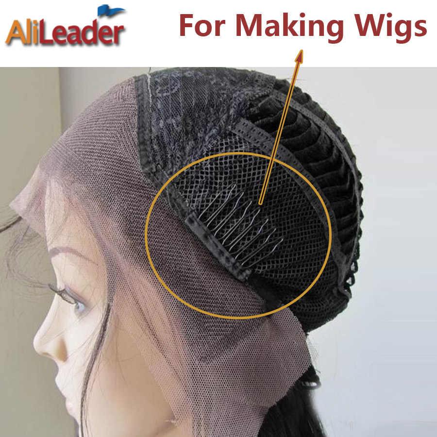 10-500 шт./упак. оптовый парик расчески парик зажимы для наращивания прочный черный зажим для волос для парик шапки профессиональные аксессуары инструменты