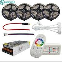 DC12V LED Light RGBW IP65 Waterproof SMD 5050 Led Strip Flexible Tape 2 4G RF Remote