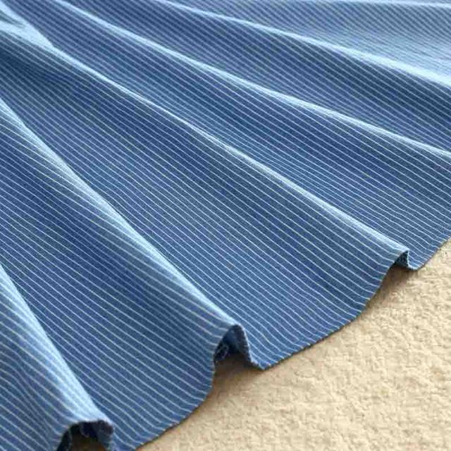 ROPALIA Vintage Retro High Waist Pleated Midi Skirt Fashion Women Skirt Denim Single Breasted Skirt 10