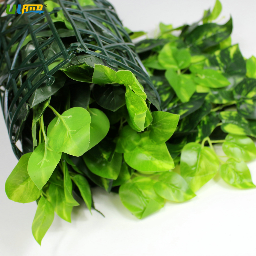 ULAND Künstliche Buchsbaumhecke Faux Ivy Blätter Pflanzen