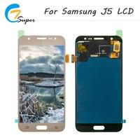 ET Super 10PCS Lot Grade AAA LCD Screen For Samsung Galaxy J5 J500 Lcd DisplayTouch Screen