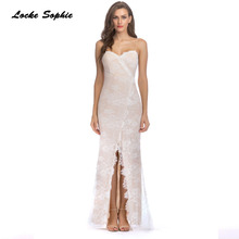 High waist Ladies Plus size Sexy party Camisole dresses 2019 Summer Lace Splicing Fork opening Dress women's Skinny Dress все цены