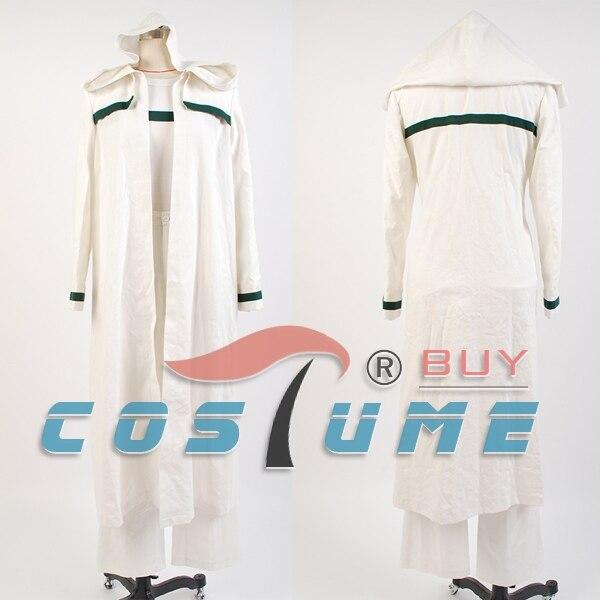 Star Trek: Deep Space девять ezri DAX белый длинный халат Плащ Хэллоуин Косплэй костюм