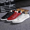 Fashion Cow Leather Men S Falts Luxury England Trend Young Man Casual Shoes M Design Men