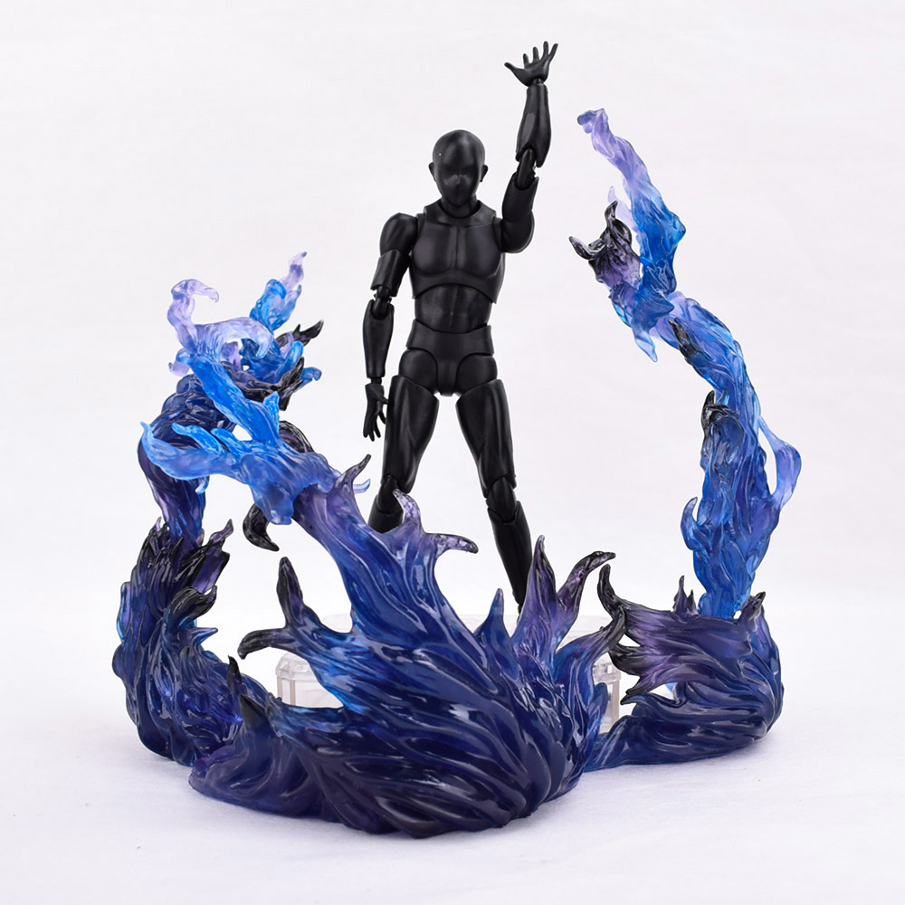 Green Color S.H.Figuarts Tamashii Star Soul Effect Burning Flame Fix D-Art Toy