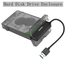 HDD Case 2.5inch SATA to USB 3.0 Adapter Hard Drive Enclosure for SSD Disk Box Usb To Sata HD External