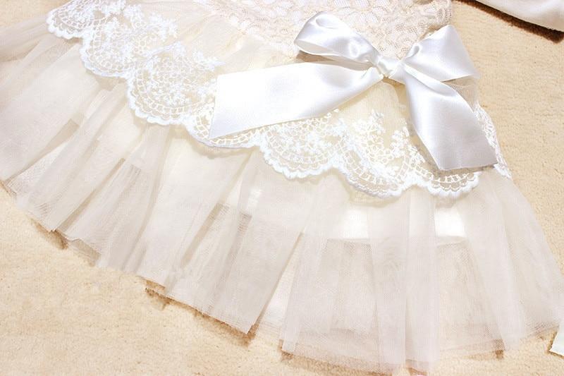White dresses for newborn baby girls