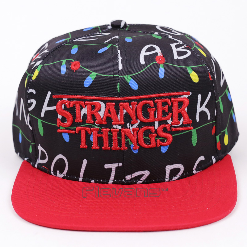 Stranger Things Movie & TV Casual Summer Cotton Snapback Cap Hat Baseball Caps Adjustable Hats ravenclaw hufflepuff casual summer cotton snapback cap hat baseball caps adjustable hats 2 styles