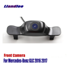 цена на Liandlee AUTO CAM Car Front View Camera For Mercedes Benz GLC 2016 2017 Logo Embedded Camera ( Not Reverse Rear Parking Camera )
