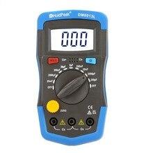 DM6013L Ручной цифровой измеритель емкости конденсатор Электронный тестер емкости диагностический инструмент+ ЖК-подсветка