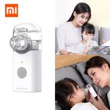 Xiaom Mijia Jiuan Andon مايكرو البخاخة البخاخات جهاز صغير محمول جهاز الاستنشاق التنفس للأطفال والكبار المحمولة علاج السعال