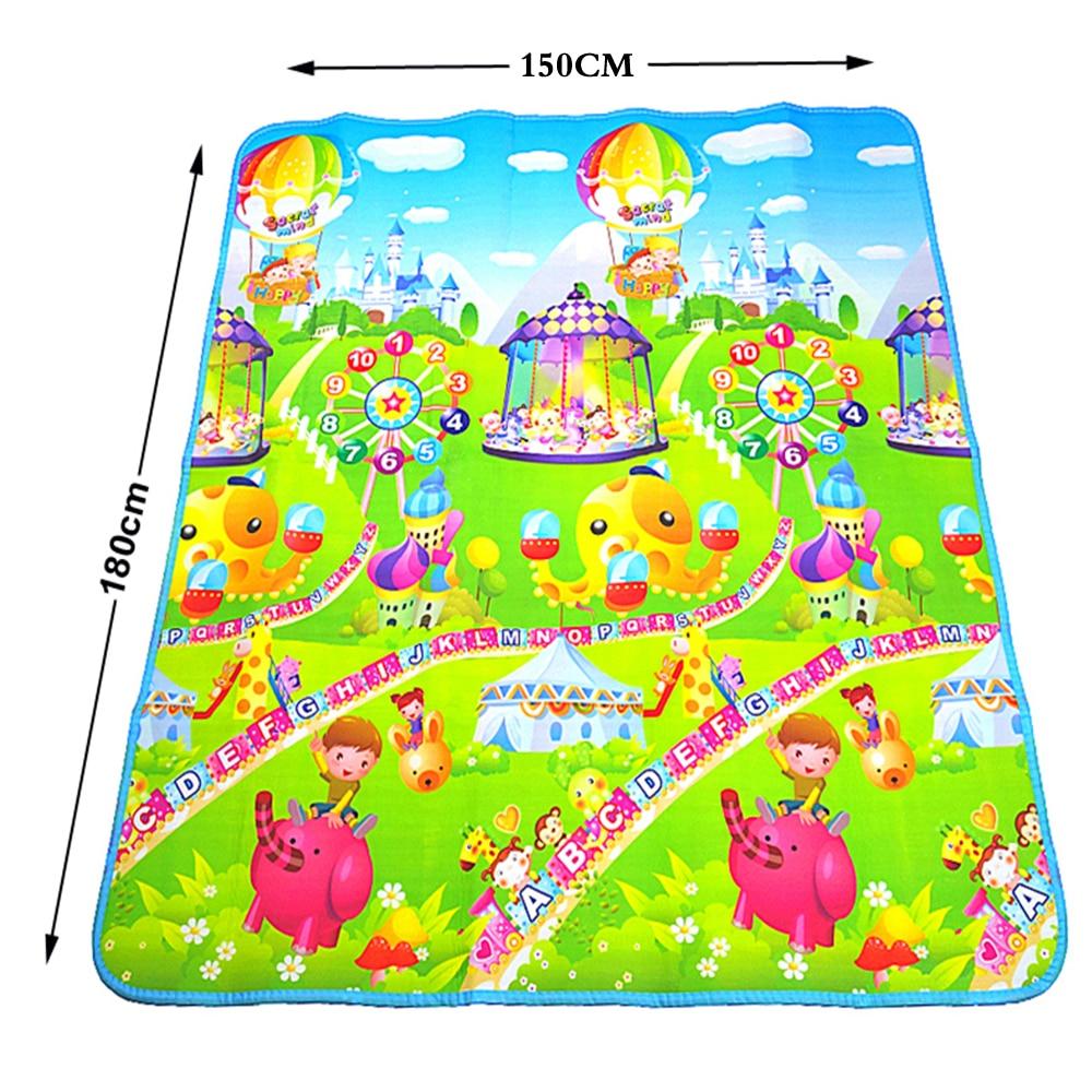 Mat-leikkikalujen kehittäminen lasten matolle Vauva Matto Lasten matto Vauvan palapelit Playmat Eva vaahto-matot lastentarhassa 4