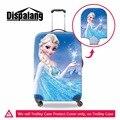 Bonito Elsa Anna bagagem À Prova D' Água cobre para meninas, bagagem spandex capas para as mulheres, elastic bagagem do trole capas protetoras