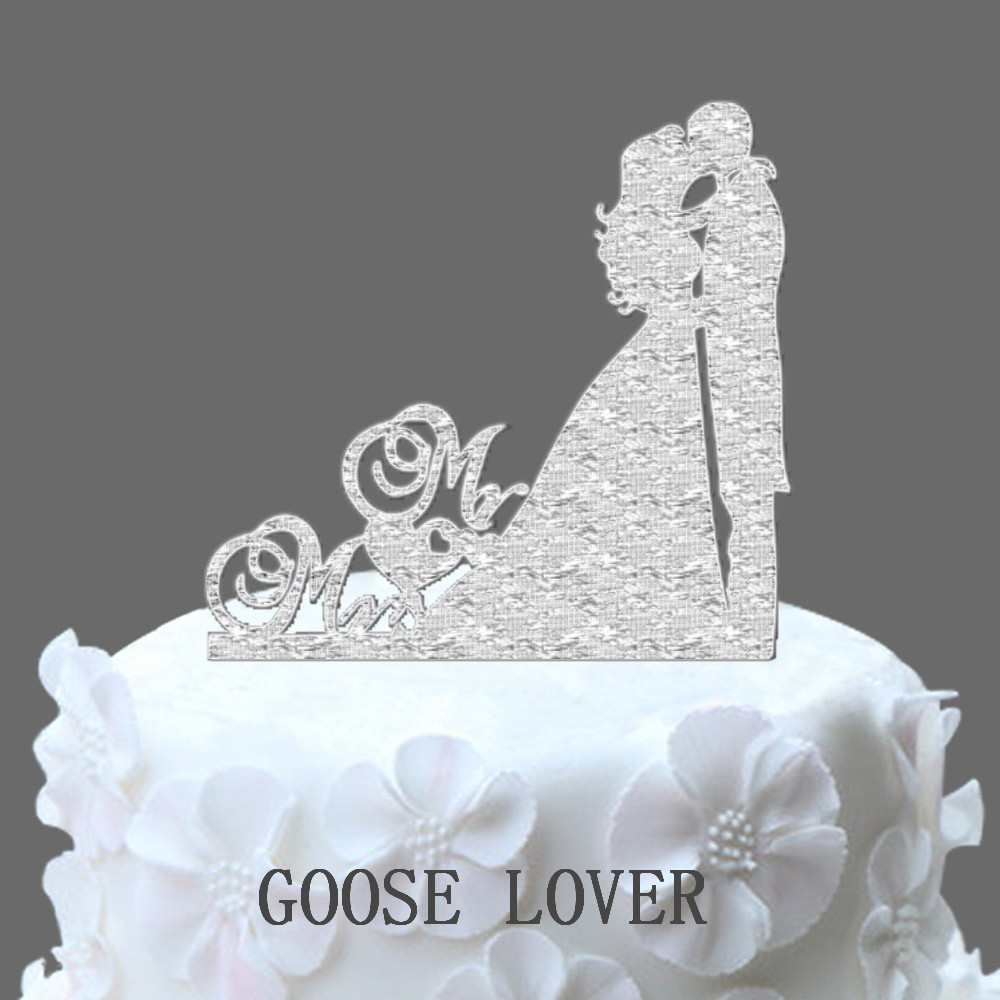 Classic kissing bride and groom wedding cake topper cake stand classic kissing bride and groom wedding cake topper cake stand wedding cake accessories wedding decoration christmas gift junglespirit Image collections