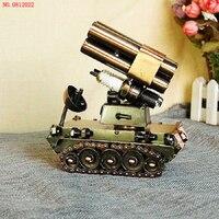 New Arrival Retro Metal Tank Model T003 NO 0812022 Decorative Ornaments Iron Model Handicrafts Hand Made