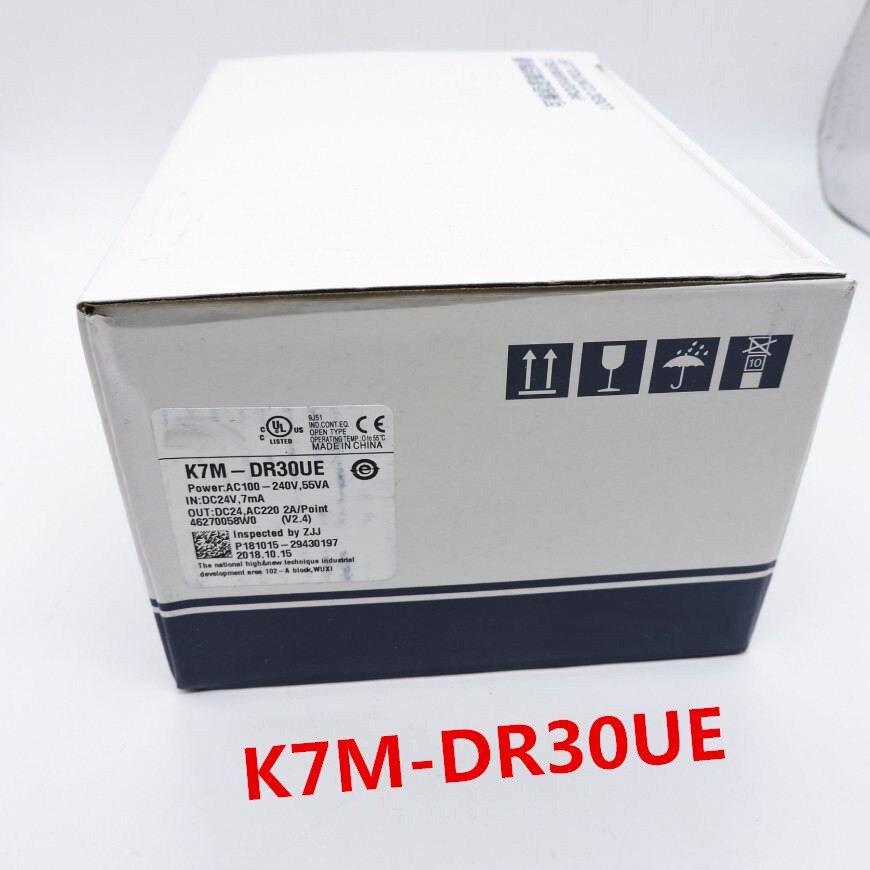 K7M DR30UE NEW ORIGINAL K7M DR30UE PCL K7M DR30UE PROGRAMABLE CONTROLLERK7M DR30UE