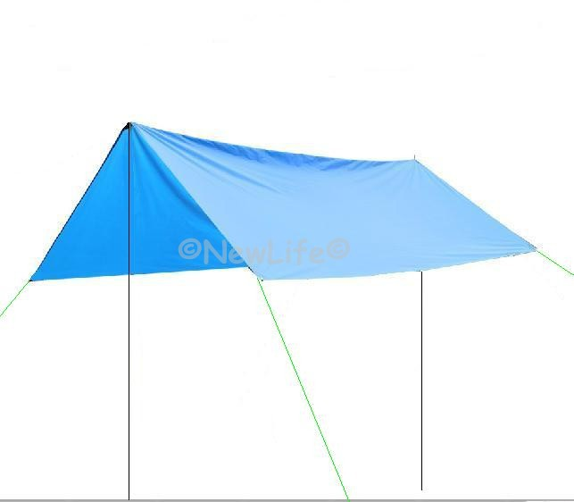 Canopy Tent Sun Shelter Sun Shade Waterproof Camping Tent Cushion Survival Shelter  1pc In Sun Shelter From Sports Entertainment On