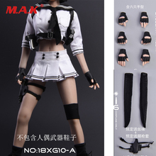 skin section model skin layers plane model skin organization structure model 1/6 scale action figure doll accessories gloves for hand model white/black grip gun hand model sutan pale skin accessory