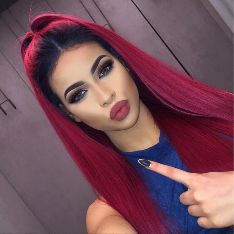 Red Hair With Black Roots Best Black Hair 2017