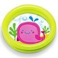 Бесплатная Доставка 2016 Симпатичные Kawaii Семья 61*15 СМ Детские Небольшой Бассейн Высокая Безопасность Поплавок Шеи Ребенка Младенческой ПВХ Плавательный Бассейн