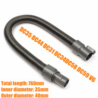 New High Quality Extension Pipe Hose Soft Tube For Dyson Vacuum DC34 DC44 DC58 DC59 V6
