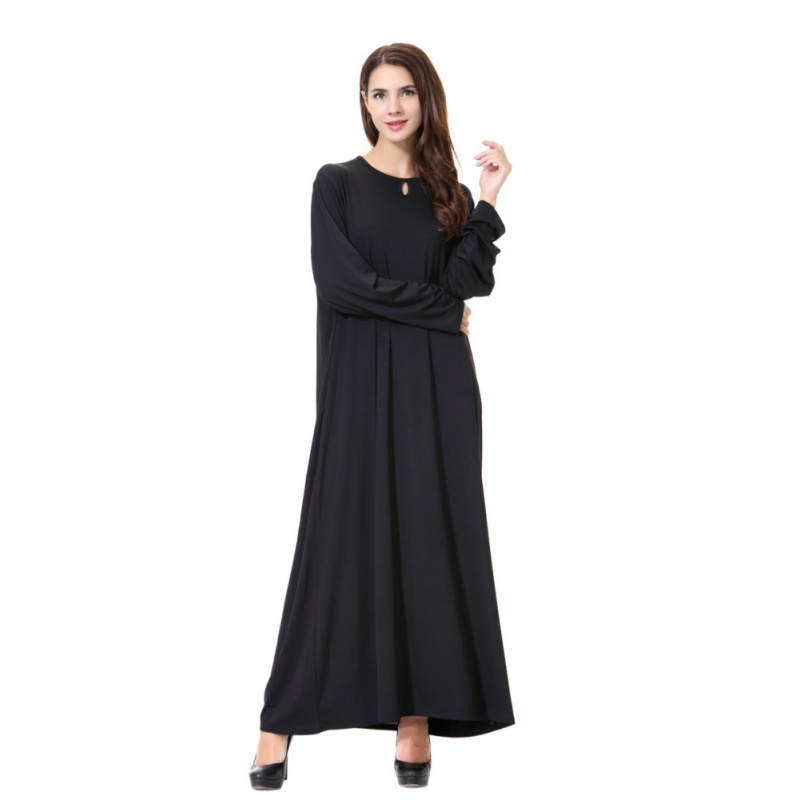 Maxi Abaya Robe Femmes Musulman Longue Islamique Robe Kimono Instant Hijab Arabe Turc La Prière D'adoration Vêtement