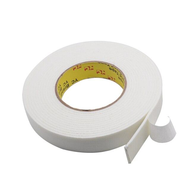 3M 10 มม. 50 มม.Super Strong Double Faced Adhesive TAPE เทปสองด้าน Self Adhesive Pad สำหรับติดตั้ง Fixing Pad Sticky