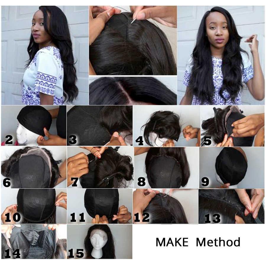 Популярная эластичная сетка для парика колпачок s для женщин для изготовления париков 6 шт./партия черная сетка спандекс купольная Кепка бесклеевая стрич плетение волос сетки
