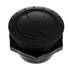 RV прицеп, дом на колесах выхлоп вентиляционное отверстие решетка 60 мм Черный Прочный ABS пластик низкий уровень шума