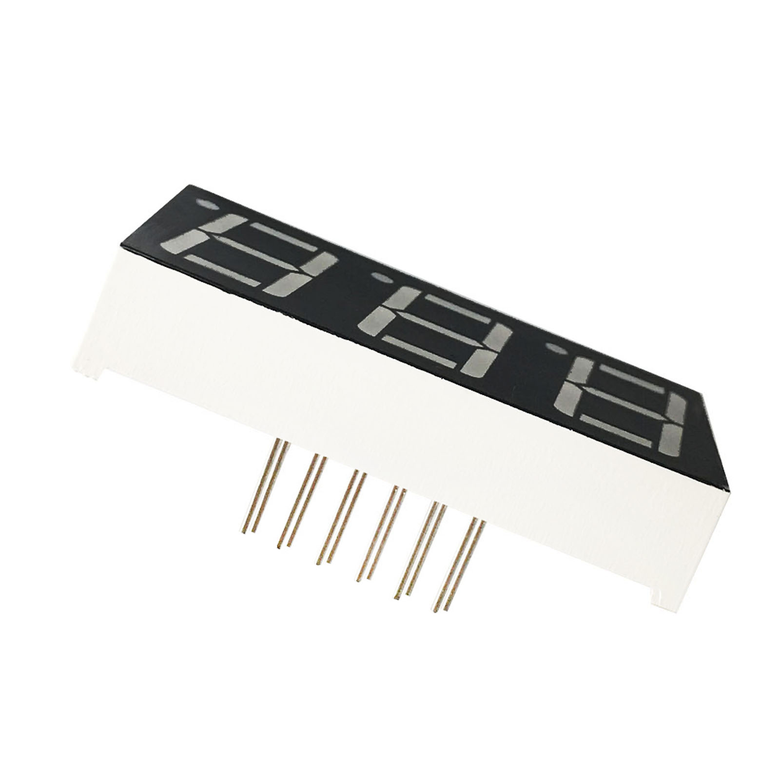 MCIGICM 100pcs 7 segment Common Anode 3 Bit digital Tube 0.56
