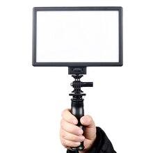Nid d'abeille Conception 15 W L116B Ultra-mince LED Lumière Vidéo pour Canon Nikon Sony DSLR Camera L3FE