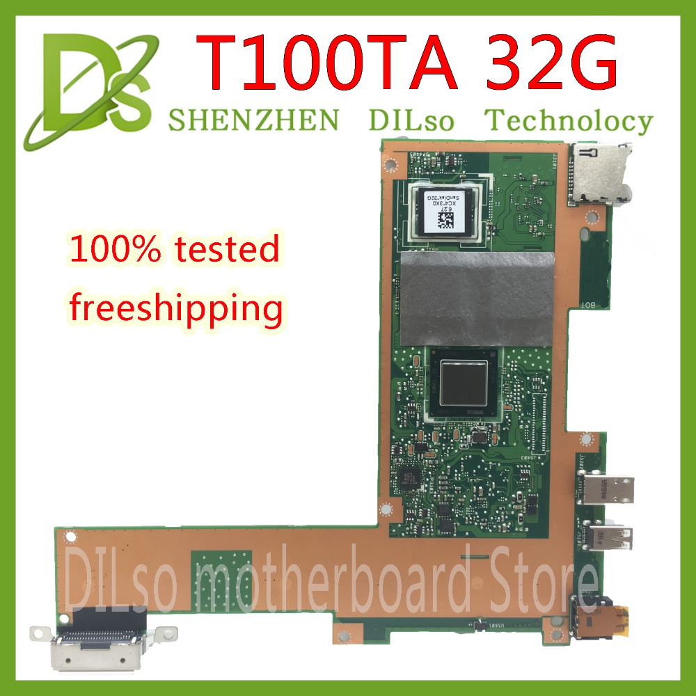 цена на KEFU T100TA motherboad For ASUS T100TA 32G laptop motherboard REV2.0 Test work 100% original
