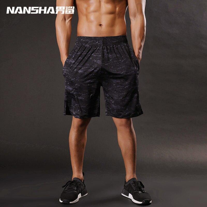 Nansha Brand Men   shorts   High Quality Mens Bodybuilding Fitness   Shorts   Gyms Aesthetics BasketballRunning Workout Jogger   Shorts
