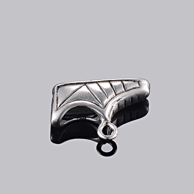5 stücke Edelstahl Antike Silber Schuh Typ Armband/Fußkettchen Charme Schmuck Zeug DIY Finding, Hypoallergen
